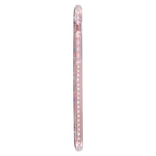 GR Für IPhone 7-Bling Sparkle Glitter Strass Harz Diamant Schutzhülle zurück Soft Case TPU Shell Bumper Cover [Shock Absorbtion] ( Color : A ) B