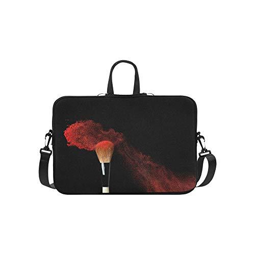 Abstrakte Kosmetik-Muster-Aktenkoffer-Laptoptasche-Kurier-Schulter-Arbeitstasche Crossbody-Handtasche für das Geschäftsreisen