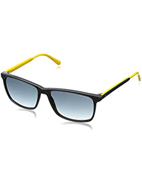 Tommy Hilfiger Unisex Wayfarer Sonnenbrille TH 1262/S 08, Gr. 56 mm, 4LD