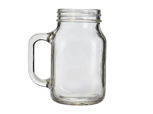 Genware mas680Mason Jar, Glas, 68CL/24Oz (Pack von 6) 24 Oz Glas