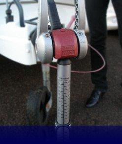 Milenco 2691 Stützlastmessgerät, Wagenheber und Nivellierer