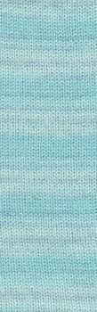 NEU 100 g Super Soxx Cashmere color 4Ply pastell türkis Fb.23 -