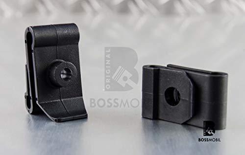 Original Bossmobil Cuenco De Rueda Plastica Tuerca De Apriete Universal 36 X 20 X 5 mm