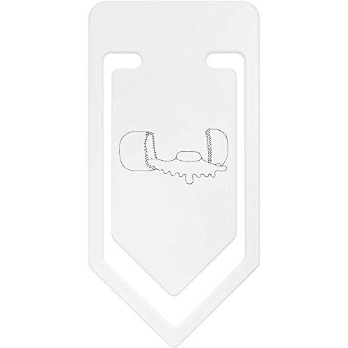 Azeeda 141mm 'Gebrochenes Ei' Riesige Plastik Büroklammer (CC00010948)