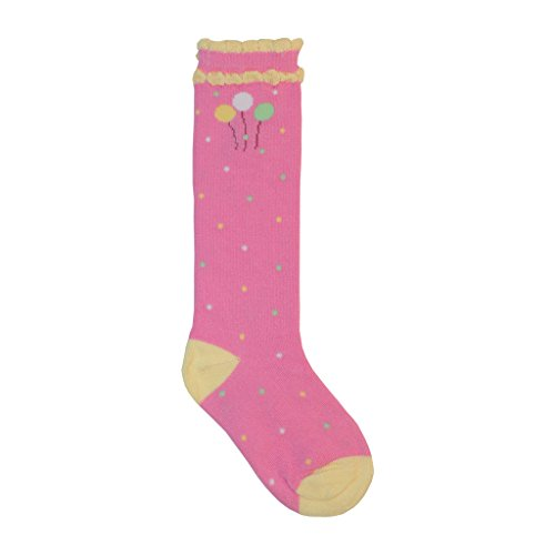 Baby Bucket Baby Girl Soft Cotton girl long knee length high Socks white with bow Long Socks  available at amazon for Rs.245