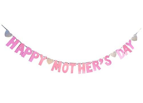 (HäNgende Fahne Der Partei, Fascigirl Muttertag Banner Druckbuchstaben HäNgende Verzierung Festival Banner Dekoration)