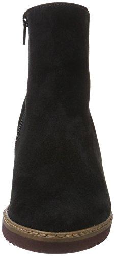 Gabor Fashion, Bottes Classiques Femme Noir (Schw.So.+Abs.Rot)