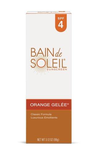 Bain - Orange Gelée Lotion Solaire-Spf 4 3.12 Oz