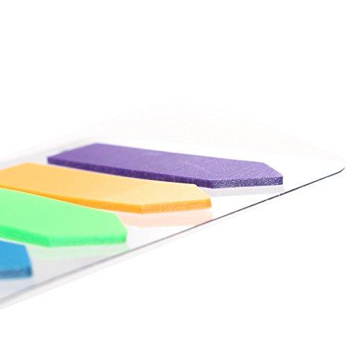 Página Marcadores Flecha, Nokia Lumia 13205* 140piezas flecha subrayadores fluorescentes Marcadores de Notas Adhesivas de escritura página Multicolor