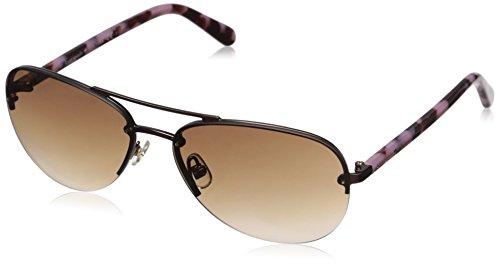 kate spade Damen Beryl/S Sonnenbrille, Mattbrown Dark Tortoise, 59