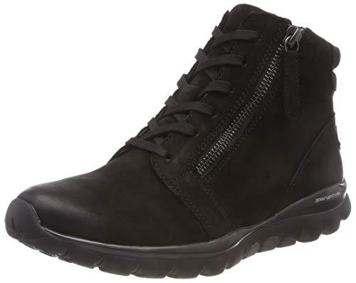Gabor Shoes Damen Rollingsoft Stiefeletten, Schwarz (Mel.) 47, 38 EU