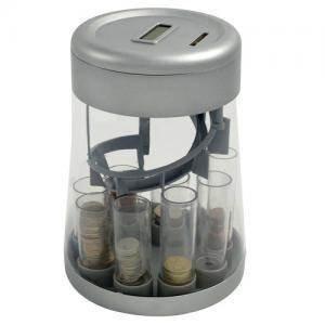 New Digital Automatisch Münzsortierer Counting Geld Change registermaschine