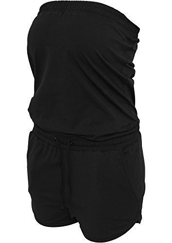 Urban Classics TB734 Ladies Hot Jump Suit Completo Regular Fit Woman XS Black Nero