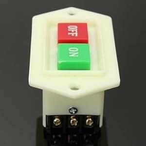 220-380V 5a bouton marche / arrêt de l'interrupteur pour le broyage de la machine de découpage de forage