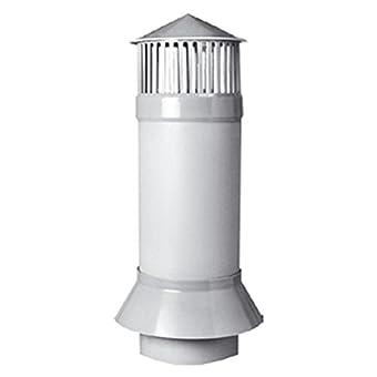 Toit de purge–Système d'aération DN 160–1000mm–9–3061–000–40–01–03+ bride