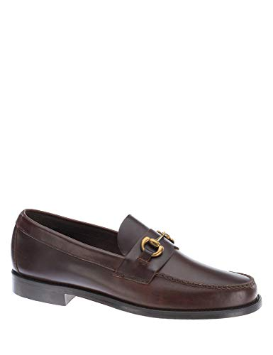 Sebago Men'S Heritage Bit Men'S Brown Loafers With Buckle In Size 41.5 E Brown