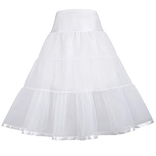 GRACE KARIN Maedchen Retro Petticoat Unterrock 10-11 Jahre CL11035-2