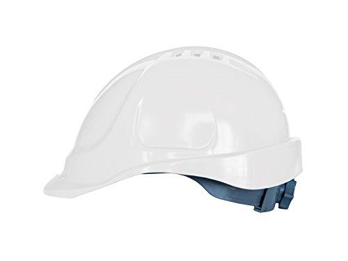 Casque de sécurité avec bandeau éponge, tailles de tête réglable, EN397, blanc
