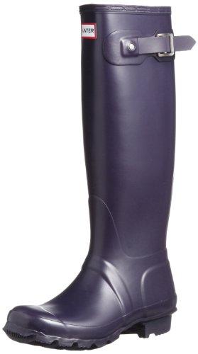 Hunter Original Tall, Bottes femme Violet