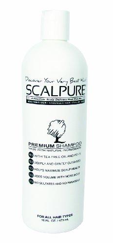 Scalpure Premium Shampoo 473ml - Tea Tree Balancing Shampoo
