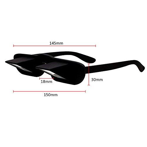 5e5729485862c0 Skitic Lazy Reading Glasses, Creative Slim Design Haute Définition Horizontale  Lunettes ...
