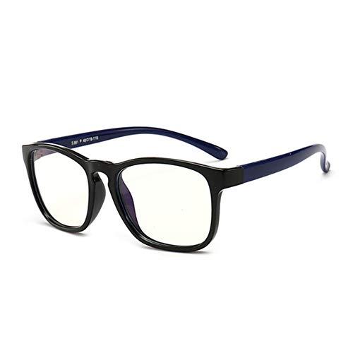 Wang-RX Kids Blue Light Blocking Glasses Kinder Optischer Rahmen Transparenter Brillenfilter Reduziert Digitale Brillen UV400