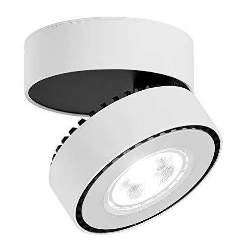 LANBOS 12W Lámpara de techo LED,Foco LED para techo y pared, Focos para el techo,Lámpara de pared,Luz...