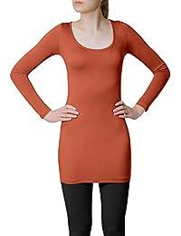 18b41ab25e48 Suchergebnis auf Amazon.de für  damen shirt rost - Damen  Bekleidung