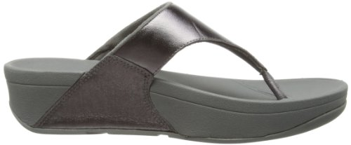 FitFlop Lulu, Tongs Femme Argent (pewter)