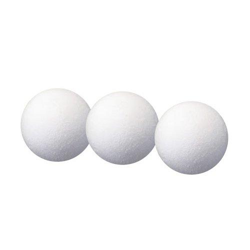 HUDORA Kickertisch Bälle, 3 Stück - Ersatz-bälle Kicker - 71417 (Kicker-tisch Weiß)