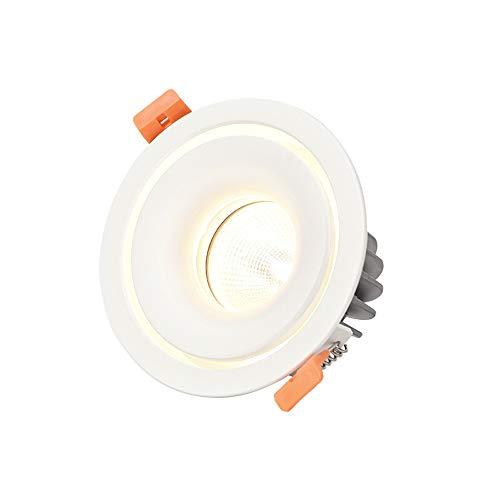 Luz de Techo Redonda Blanca Ahorro de energía Tienda de Ropa integrada...