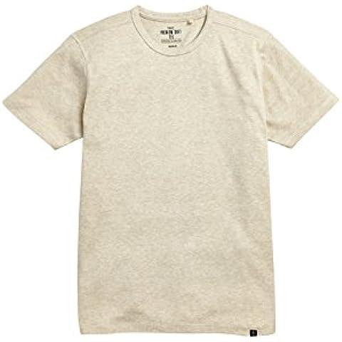 next Hombre Camiseta Manga Corta Cuello Redondo Algodón Casual Limpia De Moda Inglesa