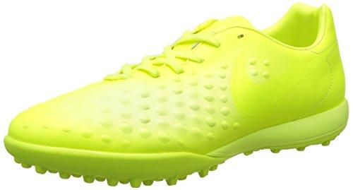 Nike Herren Magistax Onda II Turf Fußballschuhe Gelb Ice-Barely Volt, 42 EU - Für Männer Turf Schuhe Nike
