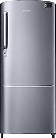 Samsung 192 L 3 Star Inverter Direct-Cool Single Door Refrigerator (RR20T172YS8/HL, Elegant Inox)