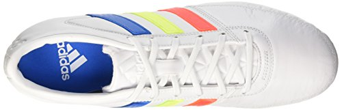 adidas Gloro 16.1 Fg, Chaussures de Football Compétition Mixte Adulte Blanc (Ftwr White/solar Yellow/shock Blue)