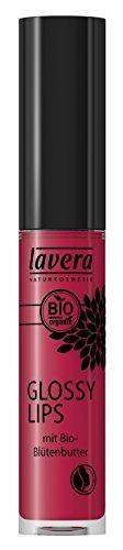 lavera brillant à lèvres - Glossy Lips - Berry Passion 06 - effet mouillé incroyable - Cosmétiques naturels - Make up - Ingrédients végétaux bio - 100% Naturel Maquillage (6,5 ml)