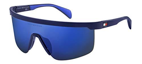 Tommy hilfiger th 1657/g/s occhiali da sole unisex adulto, blue 99