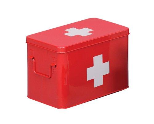 zeller-present-caja-de-metal-para-medicamentos-32-x-195-cm-color-rojo