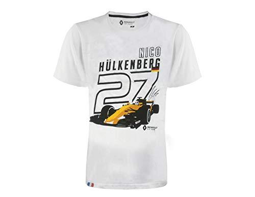 Renault F1 Team - T-Shirt - Nico Hülkenberg RS #27 Gr. S, weiß (Nico T-shirt)
