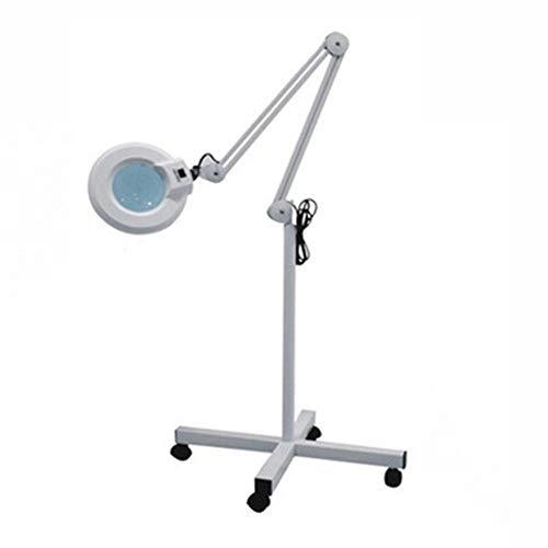 BOGEX 5X Lámpara con Lupa LED Ajustable Brazo Giratorio para Protección De...