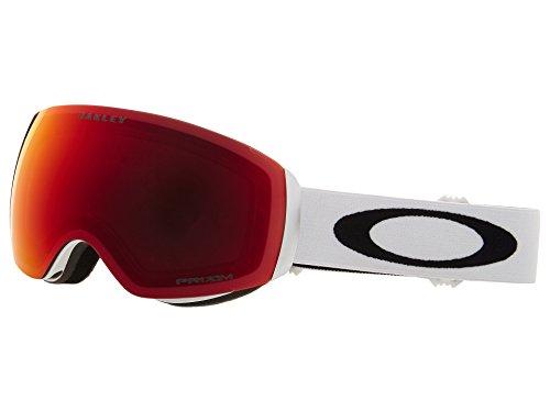 OAKLEY Unisex - Erwachsene 7064 CLIP Sonnenbrillen, weiß(Matte White-weiß mit schwarzem Logo)