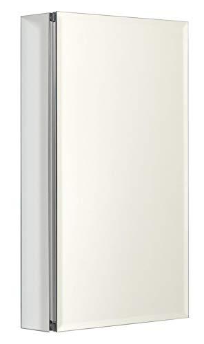 Designer Series 15 Premium Frameless Swing Door Medicine Cabinet by Zenith Products -
