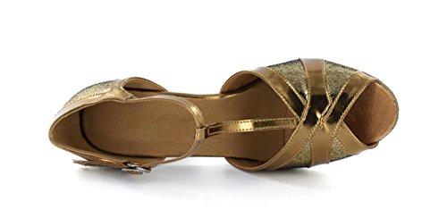 Minitoo ,  Damen Tanzschuhe , Gold – gold – Größe: 39 - 6