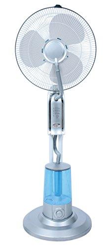 LuxuryGarden–Ventilador Nebulizador de tierra a 3Velocidad 75W también de exterior o jardín