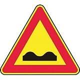 """'Señal """"Strada deformata cara cm. 90"""