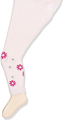Sterntaler Baby-Mädchen Leggings Leggins DP Herzen/Blumen, Violett (Knallviolett 688), 80