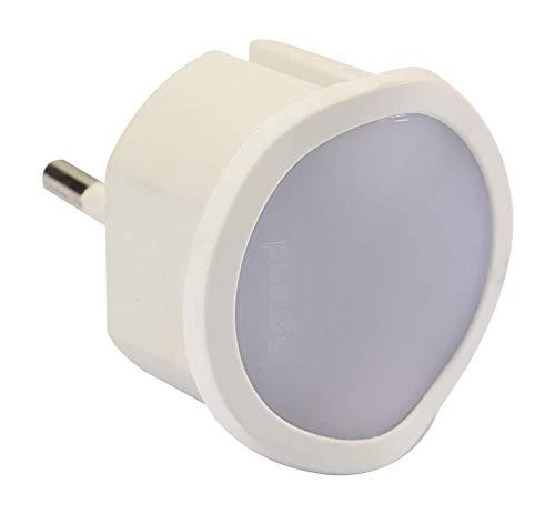 Legrand, LED-Steckdosen-Notlicht dimmbar, direkt anschlussfertig, leuchtet bei Stromausfall 1,5 Stunden oder als Taschenlampe, 050678