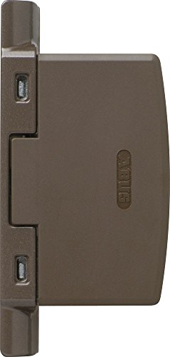 ABUS Automatische Scharnierseiten-Sicherung FAS97, braun, 11780