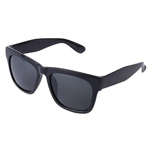 Qiman Radfahren Sonnenbrille Brillen Schutz Outdoor Sports Angeln Nacht Vision Unisex, Grau