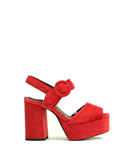 Campbell Donne Jeffrey Piattaforma Rosso Sandali Di Della Delle Masie 45q8AAwx